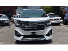 2016 Toyota Vellfire 3.5 Executive Lounge READY STOCK (FULL SPEC, WHITE WITH BEIGE INTERIOR)