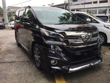 2015 Toyota Vellfire 3.5 Executive Lounge JBL 4 CAMERA MODELISTA KIT