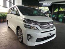 2013 - Toyota Vellfire 2.4 Golden Eyes UNREG -- Year End Clearance --