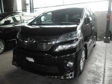 2012 - Toyota Vellfire 2.4 ZG UNREG -- Year End Clearance --
