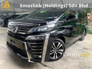 2019 Toyota Vellfire 2.5 ZG New Facelift Leather Pilot Seat 360 Surround Camera Android Twin Sunroof BSM DIM 9k Mil High Grade Car