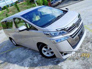 2018 Toyota Vellfire 2.5 MPV