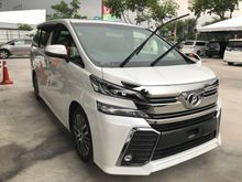 Toyota Vellfire 2.5 ZG PILOT SEAT 2015-16