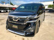 Toyota Vellfire 2.5 ZG PILOT SEAT 2015 until 16
