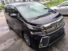 2016 Toyota Vellfire 2.5 ZG Edition SunRooF UNREG