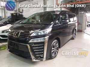 2018 Toyota Vellfire 2.5 ZG BIG SCREEN MONITOR PRE CRASH LEATHER UNREG18