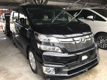 2013 Toyota Vellfire 3.5 VL FULL SPEC DEMO UNIT