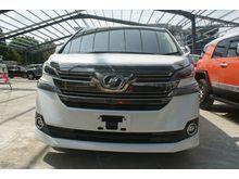 2015 Toyota Vellfire 2.5 V - 8 seater , Twin pwr Door , Drive seat electric control , Nanoe
