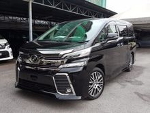 TOYOTA VELLFIRE 2.5 ZG FULLY LOADED UNREG 15