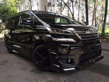 2015 Toyota Vellfire 2.5 2.5 ZA Van