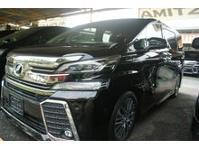 2015 Toyota Vellfire 2.5 ZG - Memory Pilot Seat , P-Boot - Many New Unit , Various specs and Color