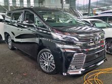 Unregistered 2015 Toyota Vellfire 2.5 ZG