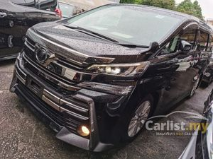 TOYOTA VELLFIRE 2.5 Z 7 SEATERS 4 CAMERA POWER BOOTH BODYKIT WITH DRL DAYLIGHT 2016 JAPAN UNREG