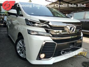 2016 Toyota Vellfire 2.5 Z-SPEC #SUNROOF # ALPINE PLAYER #  3 YEARS WARRANTY