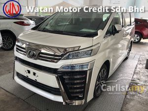 2018 Toyota Vellfire 2.5 ZG Edition Grade 4.5 New Facelift 360 Camera Pilot Full Leather Seat Pre Crash Lane Departure Assist 9 Air Bag Unreg