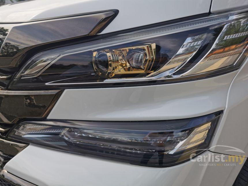 2016 Toyota Vellfire Z Golden Eyes MPV