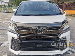 2016 Toyota Vellfire 2.5 Z Golden Eyes MPV