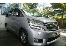 2012 Toyota Vellfire 2.4 X - Many Unit to choose - PwrDoor , 8 seat , Beige Interior , Good Condition