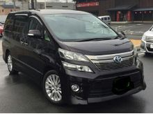 2013 TOYOTA VELLFIRE 2.4 WELCAB - DETACHABLE WHEELCHAIR 2 PWR DOORS