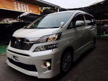 2012 Toyota Vellfire 2.4 ZG MPV Home Theater
