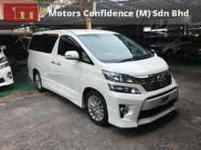2012 Toyota Vellfire 2.4 ZG Pilot Seats 18 Speakers - Wholesale Price - Motors Confidence LDP Highway Taman Megah