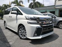 2015 Toyota Vellfire 2.5 Z SUNROOF WHITE UNREG