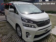 2012 Toyota Vellfire 2.4 Z MPV - FULL LOAN - SHOWROOM CONDITION - 0122577393