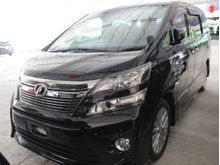 2012 Toyota Vellfire (A) UNREG