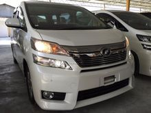 2014 Toyota Vellfire 2.4 X Spec Full Loan