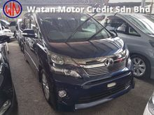 2013 Toyota Vellfire 2.4 Z-SPEC (ACTUAL YEAR MAKE 2013)