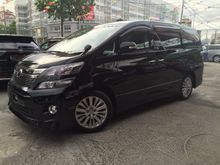 2013 Toyota Vellfire 2.4 Z PACKAGE 8 SEATS UNREG-GST INCLUSIVE-ONE YEAR WARRANTY-STOCK CLEARENCE