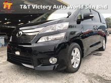 2013 UNREG TOYOTA VELLFIRE 2.4 ** KEYLESS ENTRY ** FULL LOAN ** FREE WARRANTY ** APRIL BOOM SALES ** (SPECIALIST MPV RECOND CAR) **