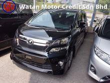 2014 Toyota Vellfire 2.4 GOLDEN EYES 2 (ACTUAL YEAR MAKE 2014)