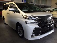 2015 TOYOTA VELLFIRE 2.5 Z * ROOF MONITOR * REVERSE CAMERA * OFFER *