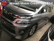 TOYOTA VELLFIRE 2.4 Z LATEST FACELIFT, 7 SEATERS, 2 POWER DRS, BODYKIT, PARKING CAMERA, XENON LAMP, PARKTRONIC,12-UNREG,KL AP,FREE 1 YEAR WARRANTY
