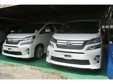 2013 Toyota Vellfire 2.4 ZG - Memory Pilot seat, Bodykit , P-Boot , Many New Unit