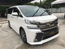 2015 Toyota Vellfire 3.5 ZAG FULL FPEC NEW CAR