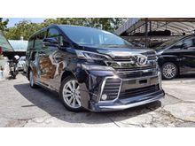 2015 Toyota Vellfire 3.5 ZA MPV Modelista Bodykit 7 Seaters 2 Power Door Unreg