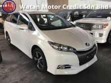 TOYOTA WISH 1.8 S HIGH SPEC  FACELIFT BLACK INTERIOR 16 SPORT RIMS 2014 JAPAN UNREG FREE 1 YR GMR WARRANTY