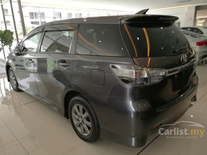2013 Toyota Wish S MPV