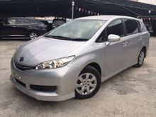 2012 Toyota Wish 1.8 X NEW FACELIFT UNREG-GST INCLUSIVE-ONE YEAR WARRANTY-STOCK CLEARENCE