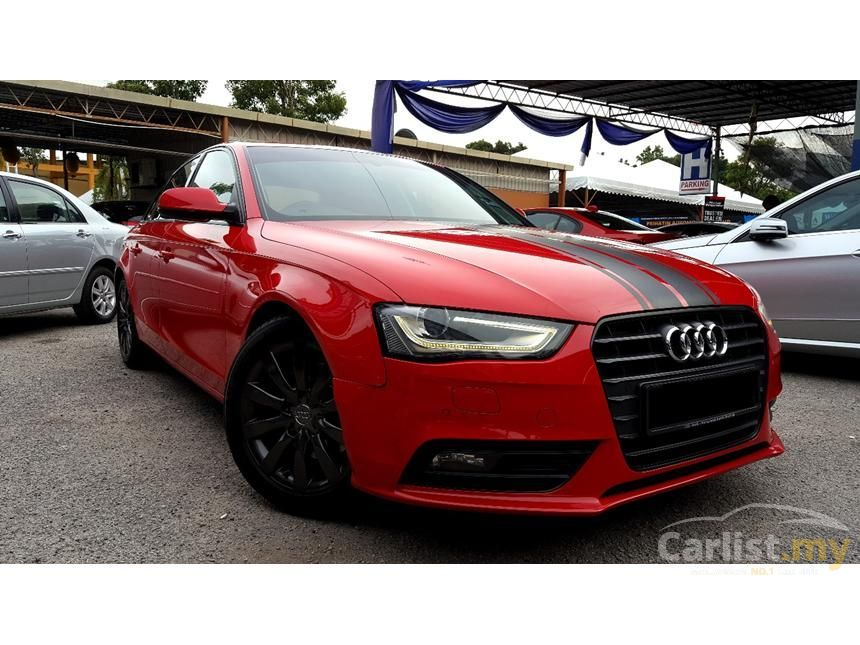 audi a4 2012 tfsi s line 1 8 in kuala lumpur automatic sedan red for rm 115 800 3197370. Black Bedroom Furniture Sets. Home Design Ideas