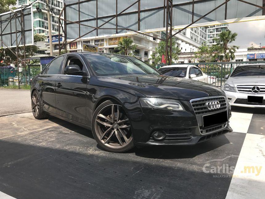 black audi a4 interior. 2008 audi a4 tfsi sedan black interior