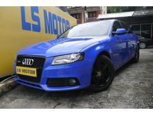 Audi A4 2.0 TFSI Sedan AUTO QUATTRO RS4  BODYKIT(FREE 1YEAR WARRANTY)(1LADY OWNER,ACC FREE,FULL SERVICE RECORD)(RM 0 D.PAYMENT)(MONTHLY RM 1350 ONLY)