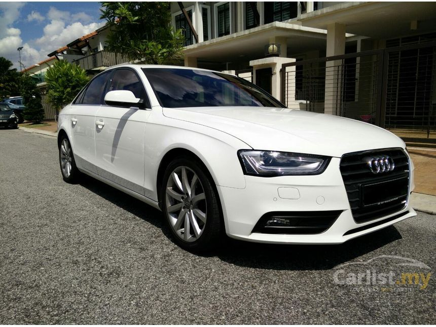 audi a4 2014 tfsi 1 8 in kuala lumpur automatic sedan white for rm 133 000 3733732. Black Bedroom Furniture Sets. Home Design Ideas