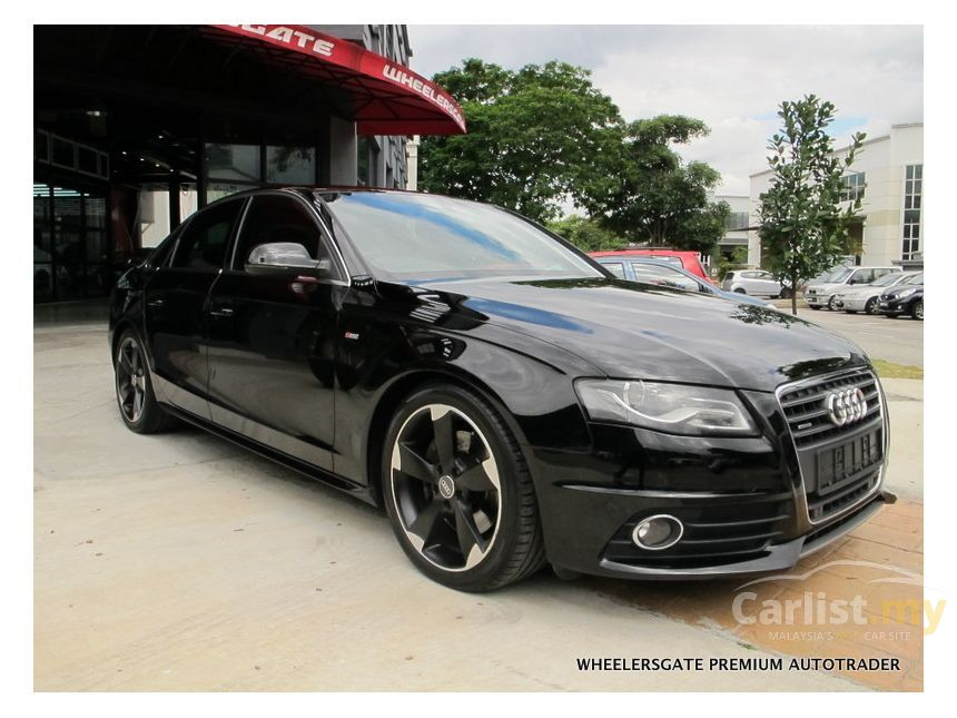 Audi A4 2010 TFSI Quattro S Line 2.0 in Selangor Automatic Sedan Black for RM 96,800 - 3621863 ...
