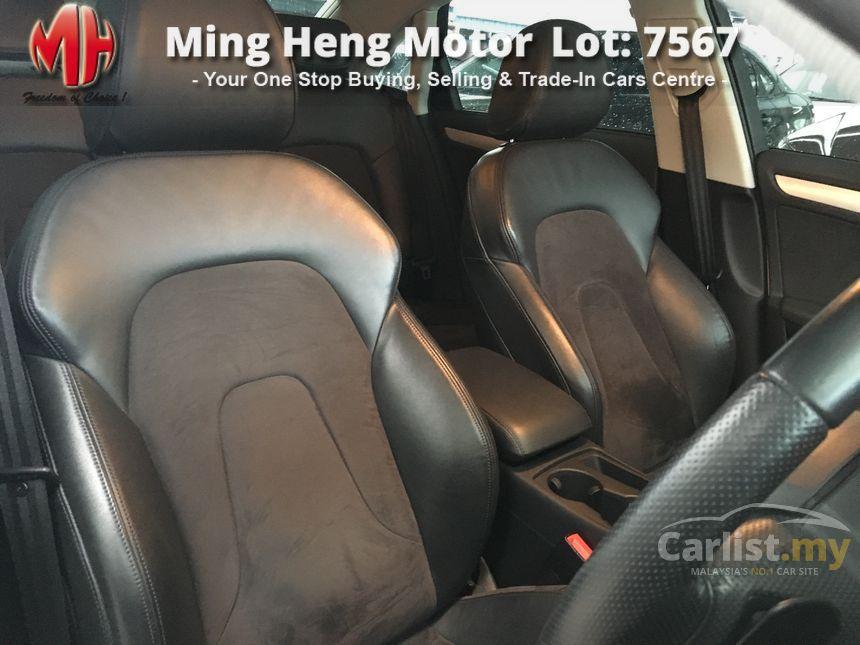 Audi A4 2012 TFSI 18 in Kuala Lumpur Automatic Sedan White for RM