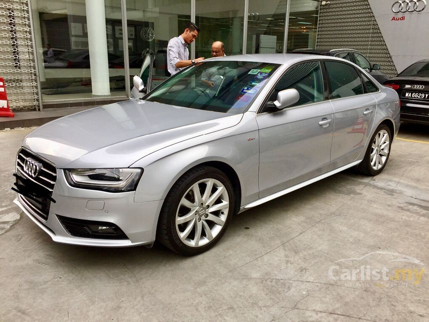 audi a4 2015 tfsi 1 8 in kuala lumpur automatic sedan silver for rm 136 000 3676619. Black Bedroom Furniture Sets. Home Design Ideas