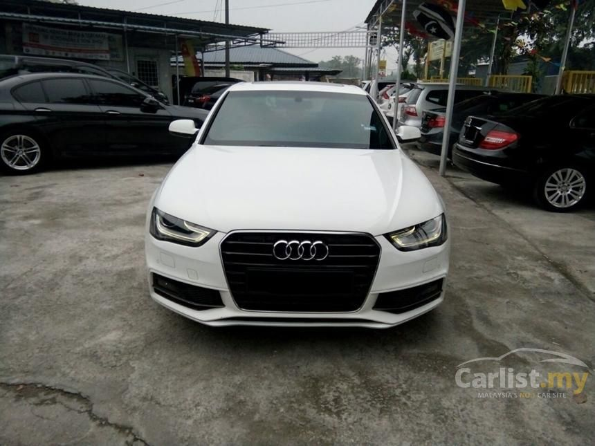Audi A4 2012 TFSI 18 in Selangor Automatic Sedan White for RM