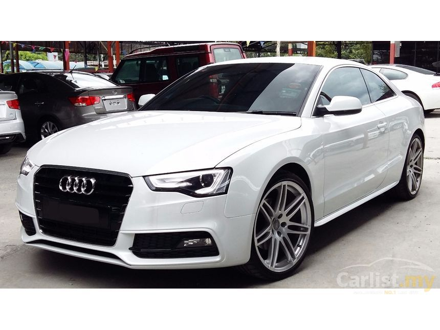 audi a5 2013 tfsi quattro s line 2 0 in kuala lumpur automatic coupe white for rm 158 800. Black Bedroom Furniture Sets. Home Design Ideas